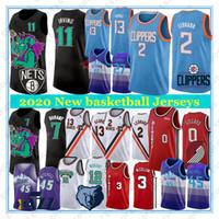 frauen basketball jerseys großhandel-NCAA 2020 New Basketball Jerseys 11 Irving Kawhi 2 Leonard Damian 0 Lillard heißen Verkauf-hochwertige Männer und Frauen Basketball-Trikots