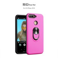 Wholesale armor case xiaomi online – custom Hybrid Armor Ring Case For Samsung Galaxy A90 For iPhone XS Max XR XS For Xiaomi Redmi Kickstand Phone Cover D
