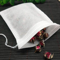 Wholesale paper bags plastic resale online - Teabags Empty Scented Tea Bags With String Heal Seal Filter Paper Loose Tea Filter Bag KKA7042