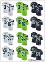 Wholesale football jerseys seattle for sale - Group buy Men Women Seattle Seahawks Youth Russell Wilson Marshawn Lynch Tyler Lockett Bobby Wagner Football Jerseys Navy Rush