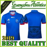 Wholesale 2019 Japan World Cup Samoa home Rugby Jerseys Rugby League shirt Samoa union jersey shirts s xl