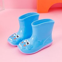 Wholesale kids water shoes for sale - Group buy New Fashion Kids Shoes Rubber Baby Girls Cartoon Removable Cotton Rainboots Children Water Shoes Waterproof Boys Rain Boots