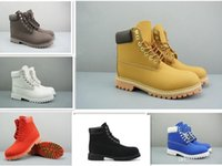 Wholesale boots shops for sale - Group buy Free Shopping Mens Women Winter Boots Chestnut Black White Red Green Casual Martin Boots Hiking Sports Shoes Designer Boots Size s