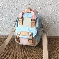 kızlar için bir omuz çantası toptan satış-Mini çanta kadın 2019 yeni bir omuz alışveriş makyaj messenger çanta Koreli öğrenciler asılmış ins kız çantası