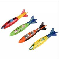 Wholesale swimming pool toys for kids for sale - Group buy Torpedo Rockets Toy Torpedo Dive Swim Sticks Swimming Pool Bathtub Bath Fun Swimming Fun Glides Under Water Toy for Kids