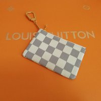 Wholesale multi coins slot online - AAA Quality New Key Pouch Damier Canvas Holds High Quality Famous Classical Designer Women Key Holder Coin Purse Small Leer Wallet