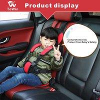 conception d'oreiller d'enfants achat en gros de-Protection Design Ceinture De Réglage De Ceinture De Protection Pour Siège Arrière De Voiture Siège Épaissi Confortable Siège De Protection pour Enfants Enfants Tout-Petits