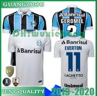 ingrosso t-shirt da rugby-2019 2020 Gremio Paulista Soccer Jerseys 19 20 Gilchmei Best Gremio Johnath MILLER LUAN Marlone Azevedo da Silva T-shirt da calcio taglia S-XXL