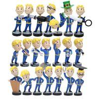 игры для мальчиков оптовых-21 стиль Vault Boy Bobbleheads Серии 1 2 3 Vault Рисунок ПВХ Фигурку Игры Характер для Малыша Игрушки Рождественский Подарок