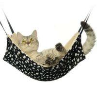 флисовые размеры оптовых-M Размер Pet руно гамак одеяла зима теплых Висячие Cat Dog Bed одеяло мягкого Pet кот котенок висит клетку щенок дома кровать 35 * 35см