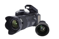 ingrosso elettronica 24-Fotocamera digitale POLO D7100 Zoom ottico 24MP da 24 megapixel Auto Focus Videocamera professionale DSLR Videocamera HD1080P aggiornata + 3 obiettivi