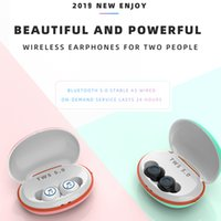 Wholesale bluetooth stereo audio headset for sale - Group buy New Macaron X20s TWS D Dynamic Music Headset Wireless Bluetooth Earphones Stereo Audio Noise Cancel IPX5 Waterproof Power Bank