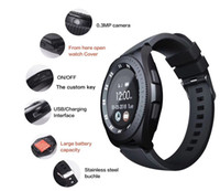 Wholesale free smart meter resale online - Z4 Bluetooth Smartwatch Wristband Android Smart Watch With Camera TF SIM Card Slot Gift Watches Strap With Retail Package Free DHL