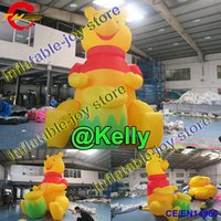 Wholesale minions for online – custom free air shipping mH inflatable yellow man cartoon for sale advertising giant inflatable minion model cheap big inflatable cartoons