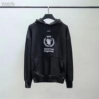 hochwertige lebensmittel großhandel-Welternährungsprogramm 1a: 1 Hochwertige Crane Black Sweatshirts Streetwear Welternährungsprogramm Pullover