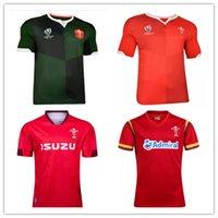 bechergröße für männer großhandel-2019 2020 Japan World Cup Wales Rugby Trikots Shirt 19 20 Thai Qualität Wales Rugby Trikots rot Herren Shirt Größe S - 3XL