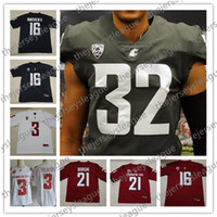 Washington State Cougars  21 Max Borghi 32 James Williams 16 Gardner  Minshew II Stitched Red White Gray 2018 NCAA College Football Jersey ecc71de41