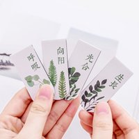 установить закладку оптовых-4pcs/set Green Plant Magnetic Bookmark Book Marker Page Clip Office Supplies Student Stationery Souvenir Collection Kids Gift