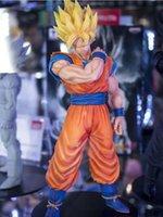 bolas de natal 15cm venda por atacado-15 cm Dragon Ball Z Goku Action Figure PVC Coleção Modelo brinquedos brinquedos para presente de natal com caixa de varejo