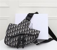 Wholesale women sling chain bag resale online - women reusable handbags Bag New Pattern Portable Small Square Package Messenger Badge Chain Packet crossbody purses sling size