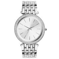 heißer verkauf neuer edelstahl großhandel-2019 heiße Verkaufs-Art- und Weisedamenuhrfrauen-Edelstahluhr nagelneue weibliche Armbanduhr der Armbanduhr mit Diamantluxusarmbanduhrqualität