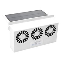 Wholesale window fans for sale - Group buy Car Fan Solar Window Sun Powered Car Auto Air Vent Cool Cooling System Radiator Fan Cooling Energy Saving