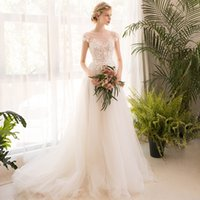 202a82c47e9 CAD  189.51. Fashion one-shouldered French wedding dress 2018 new bride  princess dream slim ...