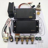 circuit actif achat en gros de-EMG 81/85 pick-up active guitare électrique + Micros Humbucker schéma de soudage