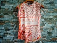 ingrosso camicie a coltura-2019 Tide Marca Womens Designer T-shirt da donna Vestiti Stampa Lettera tee shirt femme crop top