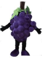 Wholesale new cartoon mascot costumes for sale - Group buy 2019 Factory Outlets hot new EVA Material Grapes Super grape Mascot Costumes Crayon Cartoon Apparel Birthday party Masquerade