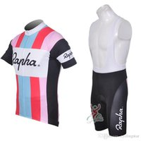 Wholesale rapha bicycle clothing for sale - Group buy 2018 summer RAPHA Team mens Cycling Jerseys High Quality Short Sleeve Breathable Bicycle clothing Quick Dry ropa ciclismo M2001