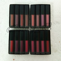 Wholesale Brand beauty lipgloss hand picked mini liquid matte lipstick The red pink brown nude edition styles lipgloss