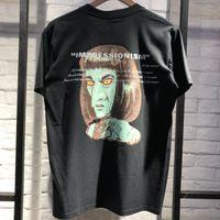 çok iyi toptan satış-2019 Yeni geldi IMPRESSIONISM T gömlek Erkekler Etiketi Var Değil ama çok iyi baskı Yüksek Kalite En Tees t-shirt