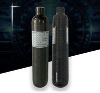 цилиндры высокого давления оптовых-0.5L-12L 30MPa Высокого Давления Композитный Углеродного Волокна Сжатого Воздуха Мини Газовый Баллон Бутылка бесплатная доставка