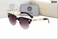 nouvelles lunettes d'été achat en gros de-Vente chaude Nouvelle Marque Hommes Lunettes De Soleil Célèbre Italie Designer De Mode Lunettes De Soleil UV400 D'été lunettes Lunettes De Soleil Lunettes De Style Rétro Style Shade Glasses2166