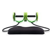exercise equipment groihandel-Ab Roller Rad mit Mat Bauchtrainer Rad Arm Taille Beinübung Multi-Functional Fitness Equipment Exercise