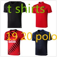 mens polo ralph großhandel-Mensentwerfer T-Shirts Polo-Männer Ralph les hommes de polo ralph Sweatshirt psg maillot dritte Spieler Version Atletico Madrid FC Barcelona