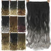 malaysian plus vague cheveux vierges achat en gros de-100% vrais cheveux naturels fil invisible dans les extensions de cheveux synthétiques Aucun clip avec Secrect Easy Line Attachez