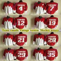 Wholesale team hockey jerseys orange for sale - Group buy 1972 Team Canada CCM Vintage Jerseys BOBBY ORR PHIL ESPOSITO YVAN COURNOYER KEN DRYDEN PAUL HENDERSON Hockey Jersey