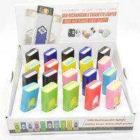 лучшая электронная зажигалка оптовых-Перезаряжаемая электронная сигарета USB без пламени Зажигалка Экологичная портативная зажигалка также предлагает лучшую зажигалку