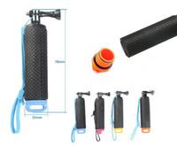 Wholesale waterproof action camera gopro resale online - Waterproof Floating Hand Grip For GoPro Camera Hero Session Hero Water Sport Action Cameras Handler accessories