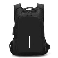 Wholesale computer hearts online - Creative men s computer bag usb bag new password lock anti theft package