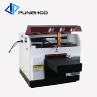 druckfotos china großhandel-UV-Drucker digital DIY Foto direkt Textil gament Druckmaschine Neupreis in China