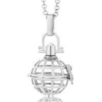 ingrosso collane in stile messicano-Spedizione gratuita Engelsrufer Music Ball Open Cage pendente stile europeo tendenza messicana collana Angel Bola gioielli