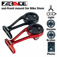 Wholesale bike computer mounts online – Zrace Bike Computer Out Front Mount Holder For Bike Voice Compatible Igpsport Garmin Bryton Gopro Handy Headlamps