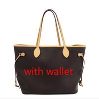 rosa brieftaschen großhandel-Pink sugao designer handbags einkaufstasche aus echtem leder frauen geldbörse nie voll druck brief blume geldbörse umhängetasche mit brieftasche 6 farbe