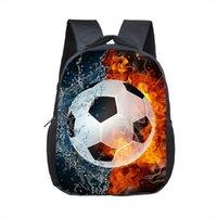 mochilas para crianças venda por atacado-12 Inch Arrefecer Soccerly / Footbally Imprimir Mochila para 2-4 Anos Crianças Crianças school bolsas pequeno da criança Saco do jardim de infância Bags