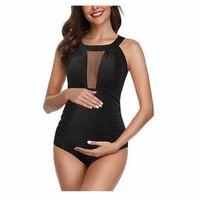 Wholesale swimsuit pregnant woman for sale - Group buy Sexy Black Bikinis Swimwear for Pregnant Women Swimming Bodysuits Maternity Ladies Monokini Swimsuit One piece Swim Wear Bathing Suits