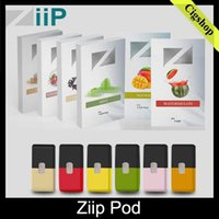 Wholesale pack lab resale online - Authentic Ziip Labs Vape Cartridge Flavors ml Prefilled Pod CT Pack JUU Compatible Vapor Cartridges Vs Vgod Stig Eon myle Pod Original