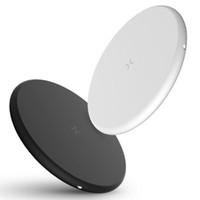 huawei google telefon großhandel-Neue QI Schnellladung ultradünne Handy Wireless-Ladegerät Sender 10W EL52 FÜR: iPhone Samsung Huawei OPPO VIVO Google LG Nokia